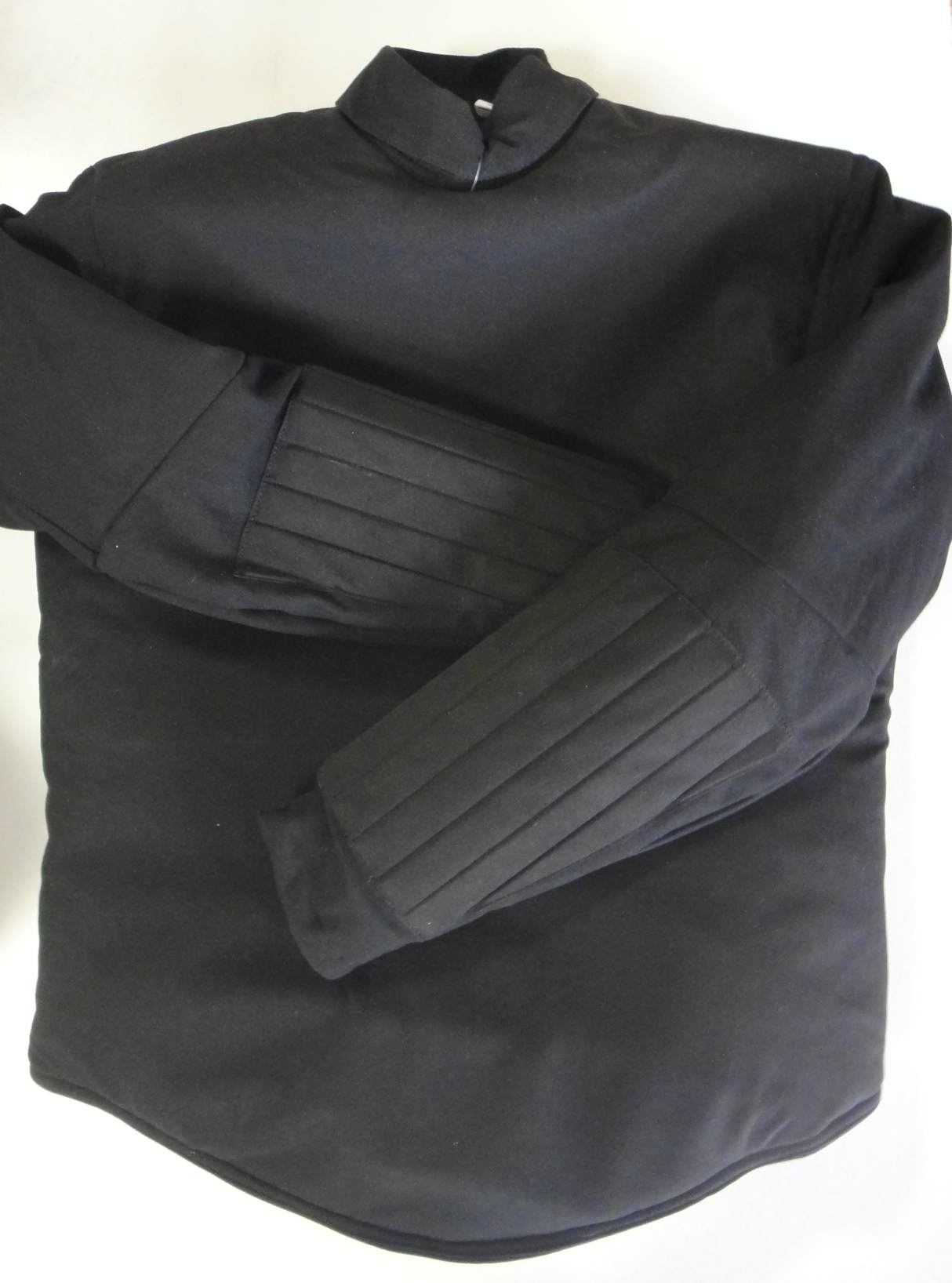 Clearance! AF HEMA Black Washable Leather Jacket (S ~ XXXL)