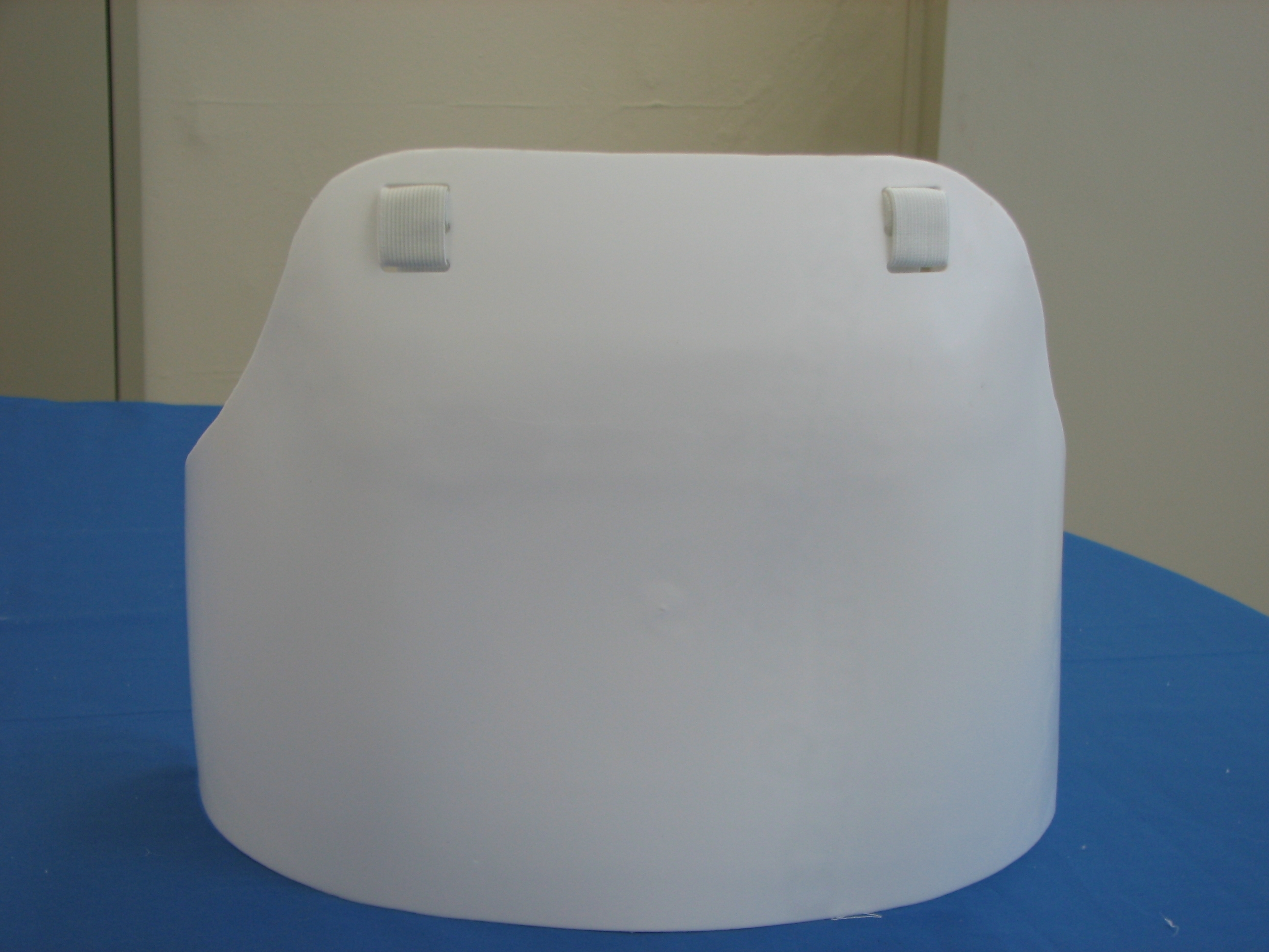 AF Flat Style Plastic Chest Guard